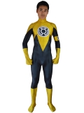 Yellow Lantern Costume 3D Printed Sinestro Corps Cosplay Suit