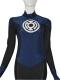 Navy Blue Lantern Crops Custom Superhero Costume