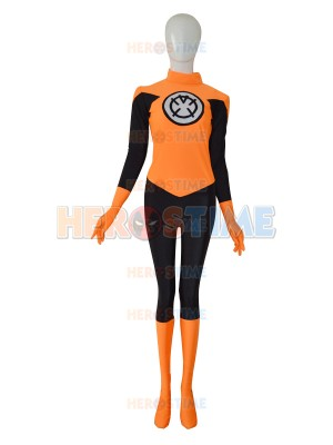 Orange Lantern Corps Custom Superhero Costume