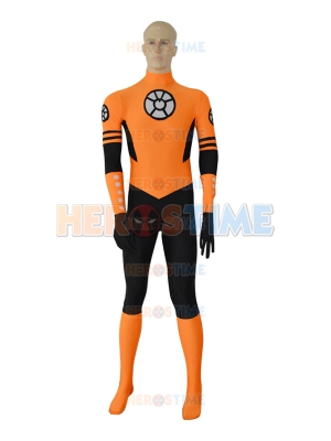 Orange Lantern Custom Spandex Superhero Costume