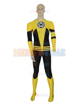Yellow Lantern Sinestro Corps Custom Superhero Costume