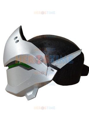 Overwatch Genji Helmet Video Game Genji EVA Cosplay Helmet