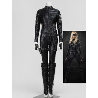 Arrow Black Canary Katie Cassidy Cosplay Costume