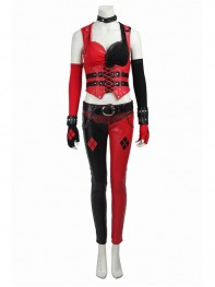 Batman Arkham Knight Harley Quinn Game Cosplay Costume