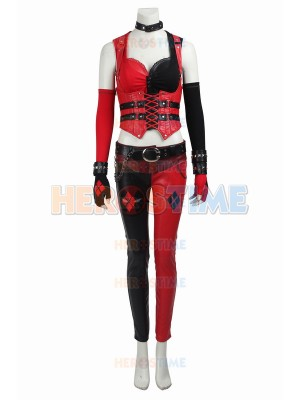Batman Arkham Knight Harley Quinn Game Cosplay Costume