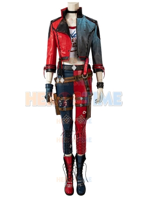 Suicide Squad Kill the Justice League harley quinn Cosplay Costume