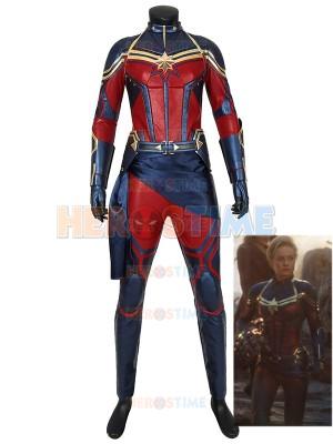 Captain Marvel Costume Avengers Endgame Cosplay Costume