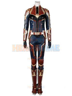 Captain Marvel Suit Captain Marvel Film Halloween Costume Full Set