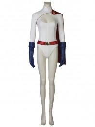 Power Girl Karen Starr Deluxe Cosplay Costume