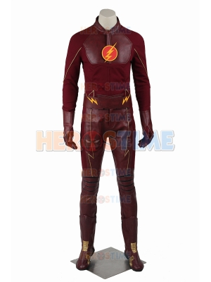 The Flash Season 1 Deluxe Mens Superhero Cosplay Costume
