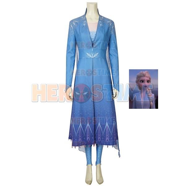 46ff0b647a8 Elsa Costume Frozen 2 Halloween Cosplay Costume