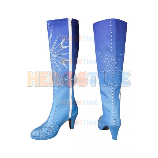 58f8f138d81 Frozen 2 Cosplay Elsa Cosplay Boots