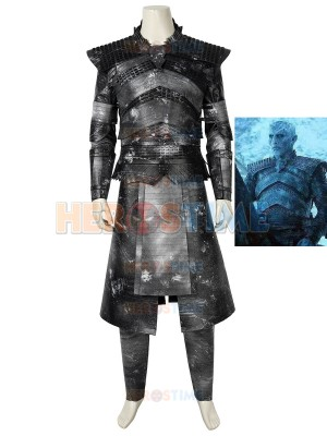 Night King Costume Game of Thrones 8 Halloween Cosplay Costume