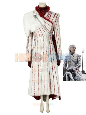 Mother of Dragons Costume Game of Thrones Season 8 Cosplay Daenerys Targaryen Cosplay Costume