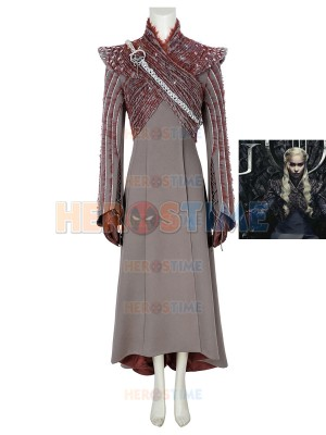 Game of Thrones 8 Cosplay Daenerys Targaryen Cosplay Costume