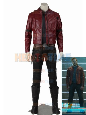 Gurdians of the Galaxy Star-Lord Deluxe Cosplay Costume
