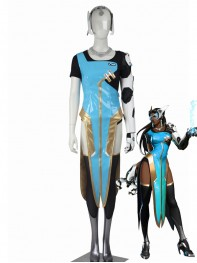 Overwatch Girls' Costume Symmetra Cosplay Suit