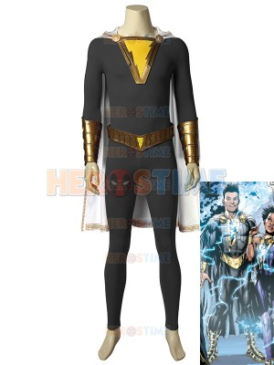 Shazam Family Eugene Choi High-end Cosplay Costume