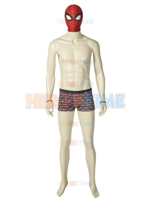 Undies Peter Parker Suit Spider-Man PS4 Games Cosplay Costume
