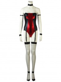 Lady Deadpool Bunnygirl Suit Sexy Female Deadpool Cosplay Costume