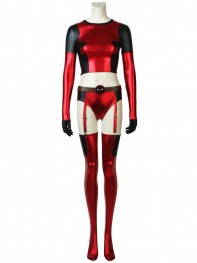 Two Piece Style Lady Deadpool Suit Sexy Deadpool Cosplay Costume