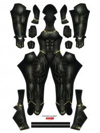 Black Panther 2018 Killmonger Costume No Mask