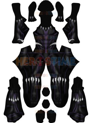 Black Panther 2018 Kinetic Costume No Mask