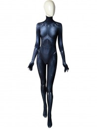 Black Panther 2018 Version Cosplay Costume Female Shade