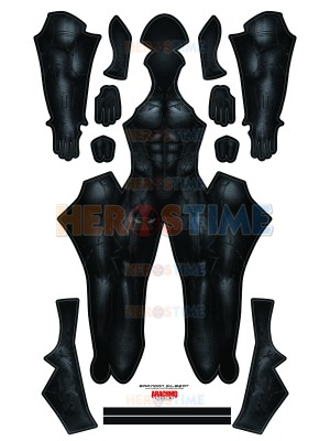 Black Panther 2018 Version Cosplay Costume No Mask No Accessories