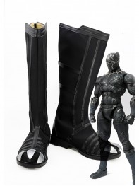 Captain America: Civil War Black Panther Cosplay Boots