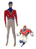 Marvel Comics Captain Britain Spandex Superhero Costume