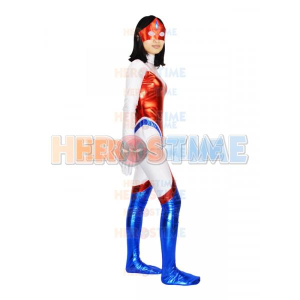 Captain Uk Spandex Metallic Superhero Costume That leaves captain marvel, a movie that was announced years ago. captain uk spandex metallic superhero