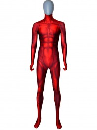 Daredevil Costume Classic Daredevil Printed Costume No Mask