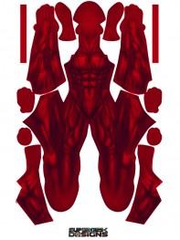 Daredevil Costume Classic Marvel Daredevil Printed Costume