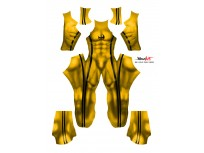 Iron Fist Bruce Lee Printed Costume