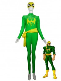 Marvel Comics Iron Fist Superhero Spandex Costume