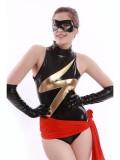 Sexy MsMarvel Superhero Costume
