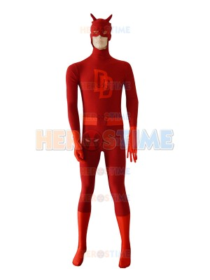 Marvel Comics Daredevil Spandex Superhero Costume