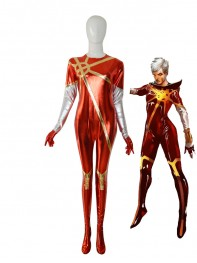 Marvel Comics Phyla Vell Quasar Female Superhero Costume