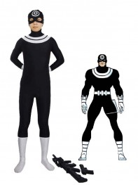 Marvel Comics Supervillain Bullseye Spandex Costume