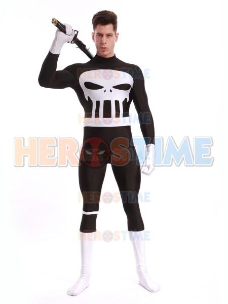 Adult Punisher Spandex Superhero Costume