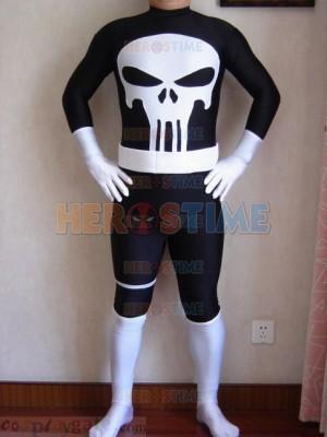 Marvel Comics Punisher Spandex Superhero Costume