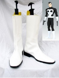 X-Men Comics Punisher Superhero Cosplay Boots