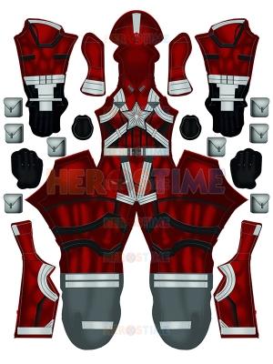 Black Widow Red Guardian Movie Version Cosplay Costume