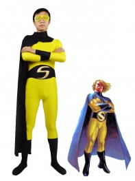 Marvel Superhero Sentry Spandex Superhero Costume