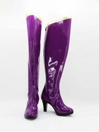 She-hulk Marvel The Avengers Female Purple Superhero Boots