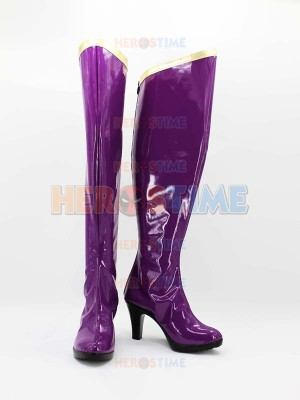 She-hulk Marvel The Avengers Female Purple Superhero Boots