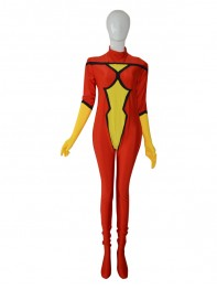 Spider Woman super héroe Catsuit 2014 Nuevo estilo de Cosplay Catsuit