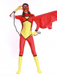 Adult Spider Woman Spandex Superhero Costume