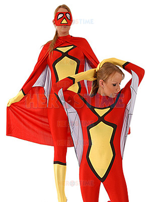 Marvel Comics Spider-Woman Spandex Superhero Costume